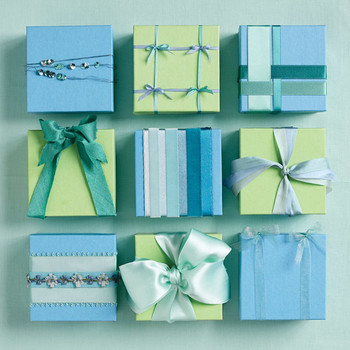 Bow and Knot Wedding Favor Box Decorations