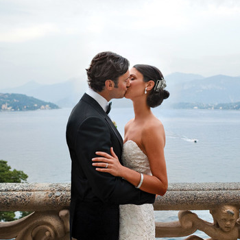 A Traditional Outdoor Destination Wedding in Lake Como, Italy