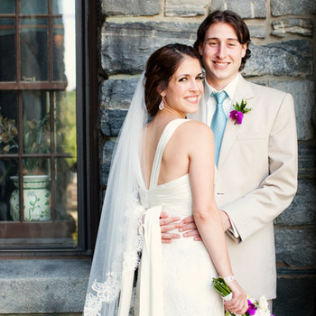A Pale-Blue and Brown Tent Wedding in Vermont