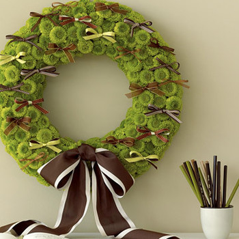 Wedding Colors: Green and Brown