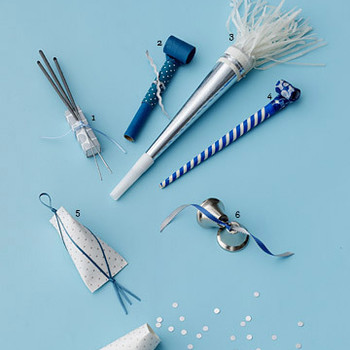 Blue and Silver: Creative Send-Offs