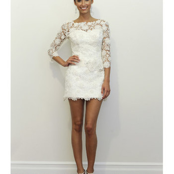 Short Wedding Dresses from Spring 2012 Bridal Fashion Week