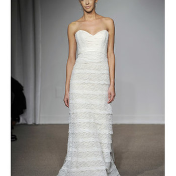 Sheath Wedding Dresses from Spring 2012 Bridal Fashion Week