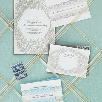 Lace Invitation Suite