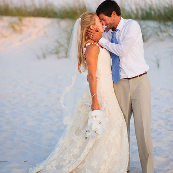 A Vibrant Wedding on the Beach in Florida