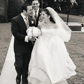 A Retro-Inspired Lavender Formal Wedding in New York