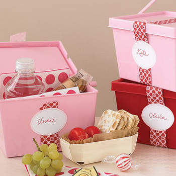 Bridesmaids' Goodie Boxes