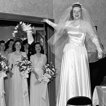The Timeless Traditions: Tossing the Bouquet
