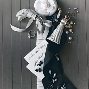 Tuxedo-Inspired Wedding Ideas