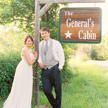 An Intimate Outdoor Pink Wedding on a Farm in Kentucky
