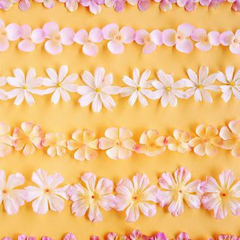 Silk-Petal Garlands