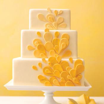 Teardrop Wedding Cake How-To