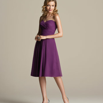 Lavender and Purple Bridesmaid Dresses