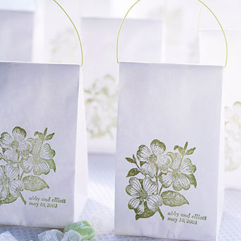 Stamped-Bag Favors