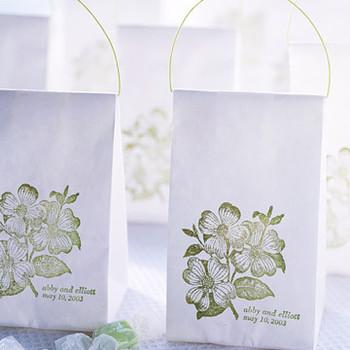 Stamped-Bag Favors