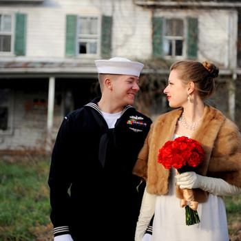 A Retro-Inspired Intimate Wedding in Virginia