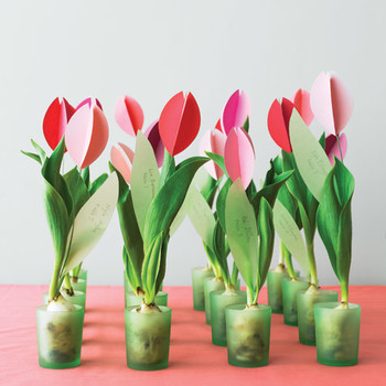 Paper Tulip How-To
