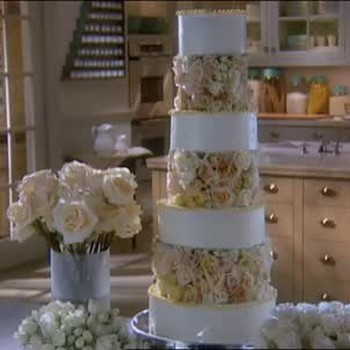 Designing A Rose Wedding Cake