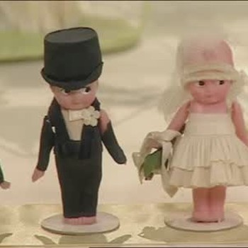 Antique Cake Topper Collection