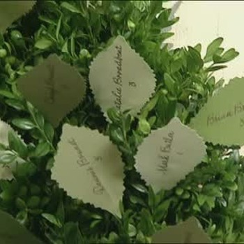 Leaf Seating Cards How-To
