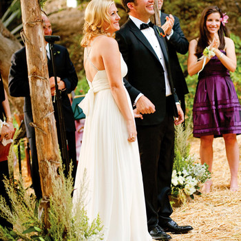 A Casual Outdoor Rustic Wedding in California