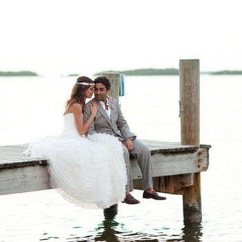 A Vibrant Beach Destination Wedding in Florida