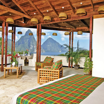 Travel to St. Lucia's Jade Mountain for Your Wedding in Paradise