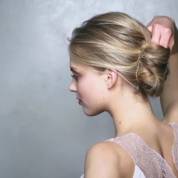 French Twist Hairstyle How-To