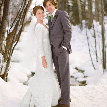 A Rustic Winter Destination Wedding in Colorado