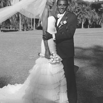 Marcus Samuelsson and Maya Haile's Traditional Outdoor Destination Wedding in Ethiopia