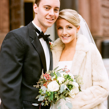 A Formal Christmastime Wedding in Washington, D.C.