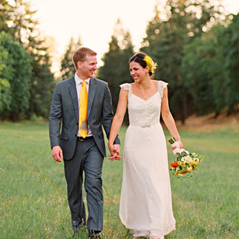 A Whimsical Outdoor Wedding in Oregon