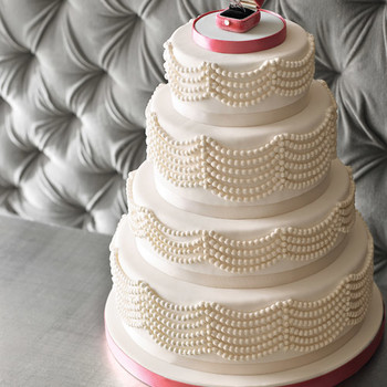 Bejeweled Wedding Cakes