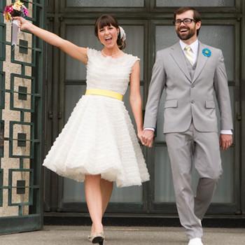 A Retro DIY Wedding Outdoors in California
