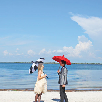A Vibrant Outdoor Destination Wedding in Florida