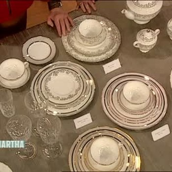 Martha Stewart Wedding Tableware Collection