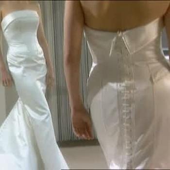 Vera Wang Designs Darcy Miller's Wedding Gown