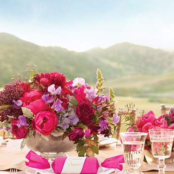 A Vibrant, Whimsical Outdoor Destination Wedding in California