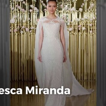 5 Wedding Dress Trends from Spring 2018 Bridal Fashion Week