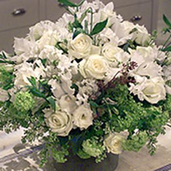 All-White Centerpiece