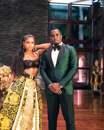 P Diddy and Cassie