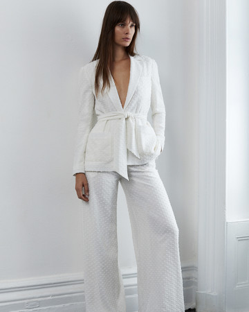 lein fall 2018 wedding dress two piece pantsuit trousers