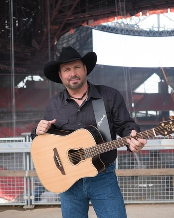 Garth Brooks at a concert