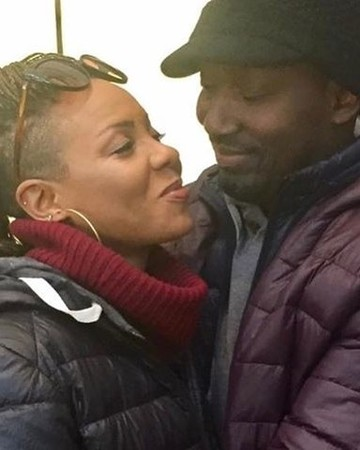MC Lyte and Her Fiancé