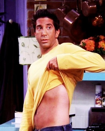 Ross Friends Tanning Episode