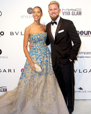 Leona Lewis and Dennis Jauch Award Show Photo