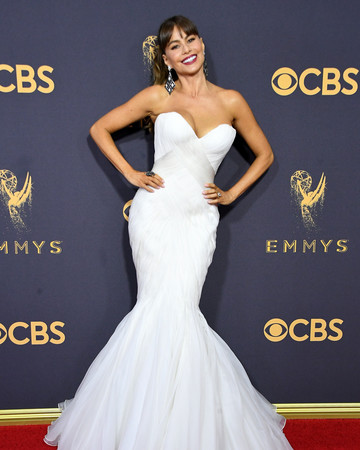 Sofia Vergara Emmys Red Carpet 2017