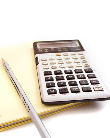 A Calculator on a Notepad
