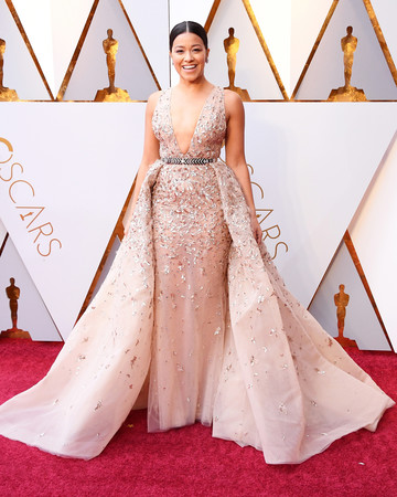Gina Rodriguez Oscars Red Carpet