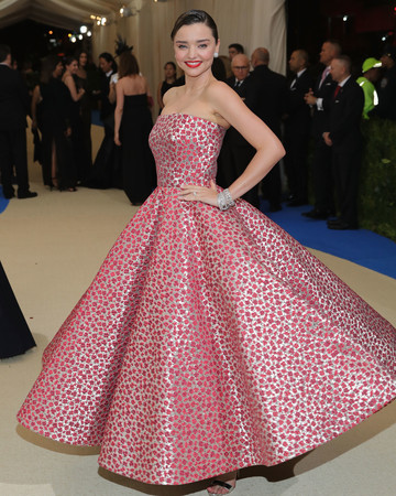 Miranda Kerr Met Gala Dress 2017